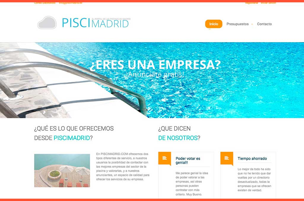 Web PisciMadrid