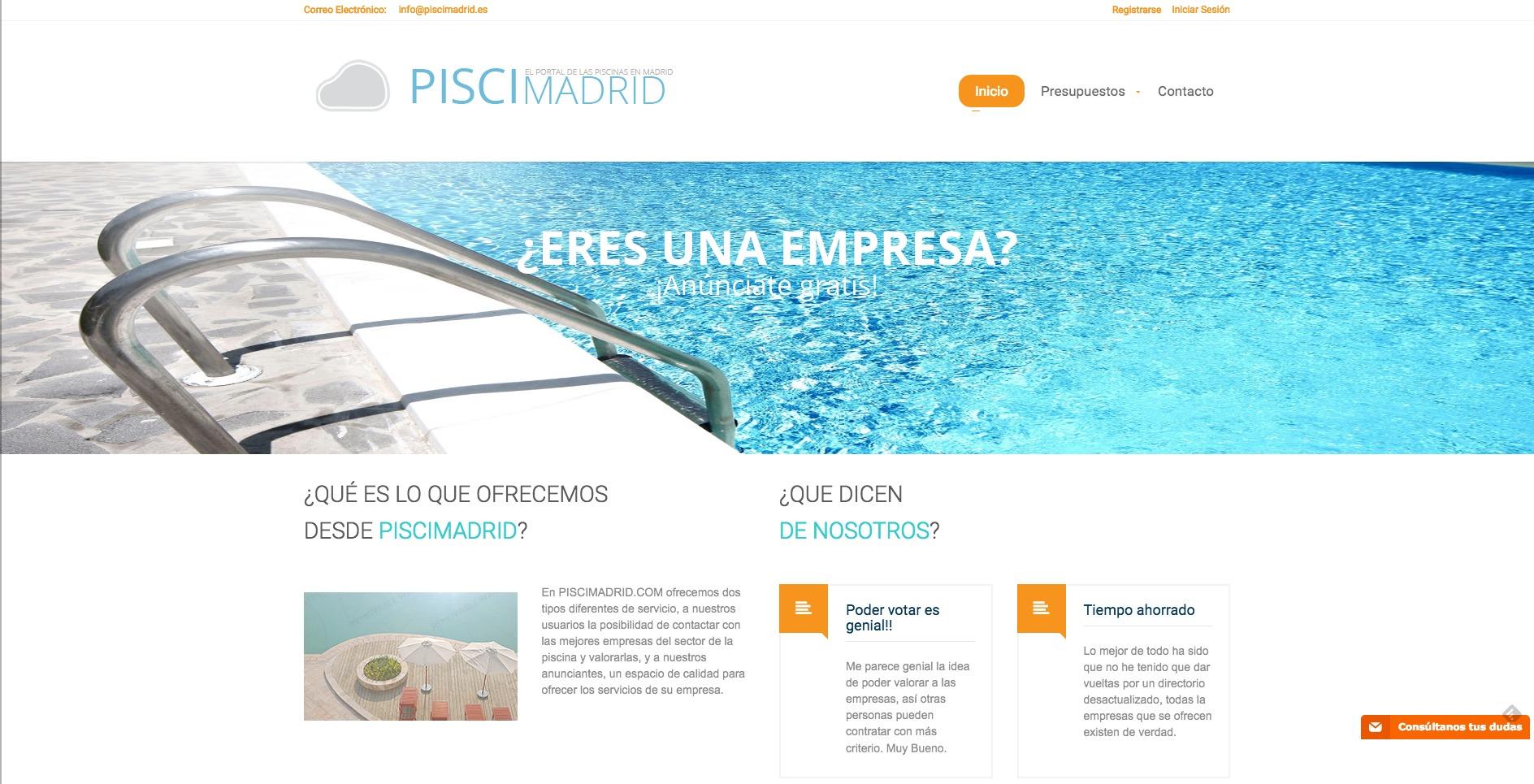 PisciMadrid servicios a empresas y particulares