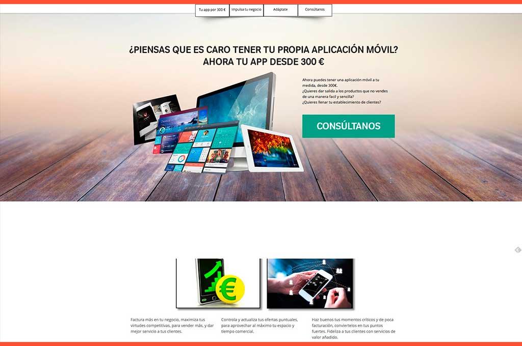 Web Móvil App desde 300 euros