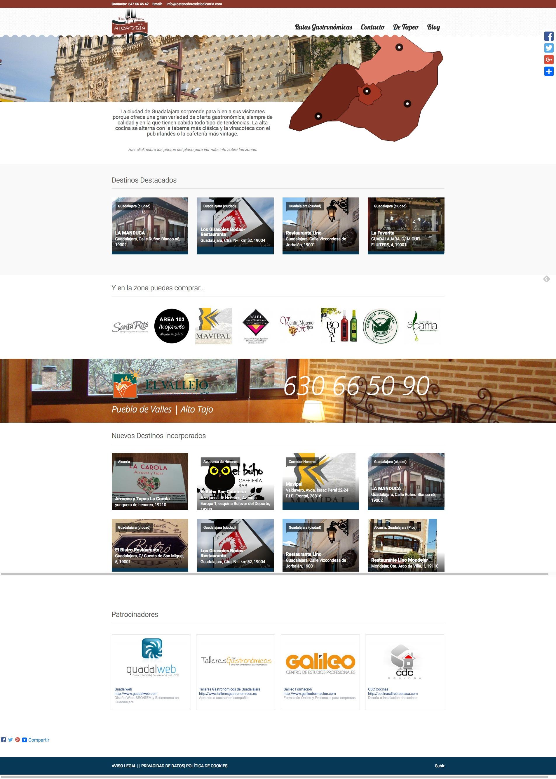 Detalle anuncios empresas en Los Tenedores de la Alcarria