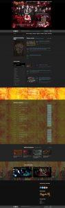 Captura web completa Mago de Oz
