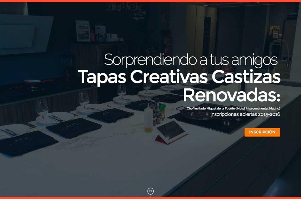 Tapas creativas en Talleres Gastronómicos