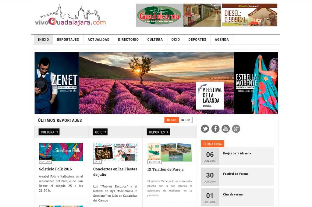 Vivoguadalajara, tu portal de noticias y eventos en Guadalajara.