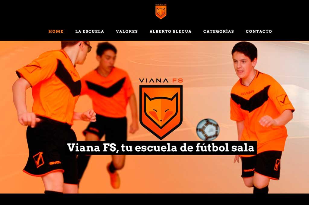 Club Viana Futbol Sala. Educación en deporte y valores